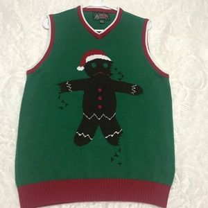 Other - Ugly sweater vest medium